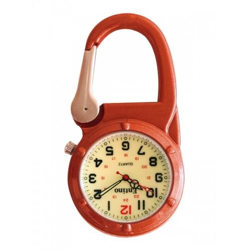 Knip Horloge NOC471 Lumineus Oranje