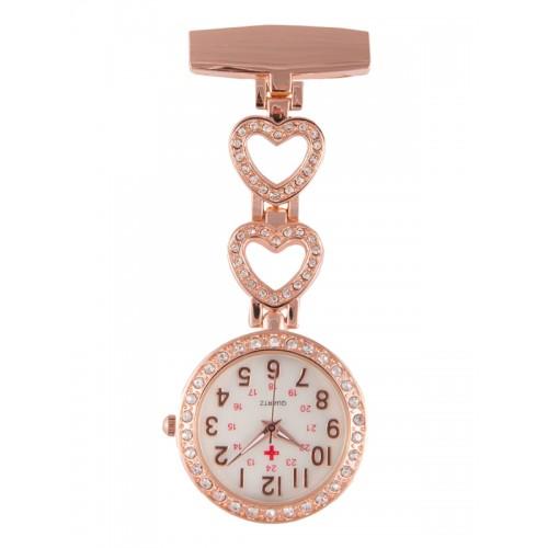 VerpleegstersHorloge Love Rosé Goud