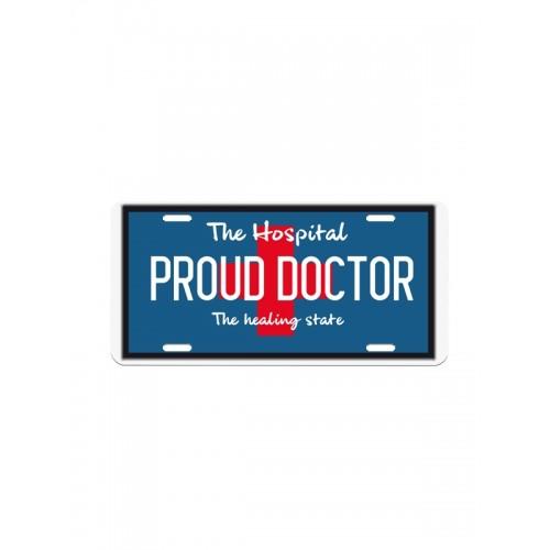 Kentekenplaat Proud Doctor