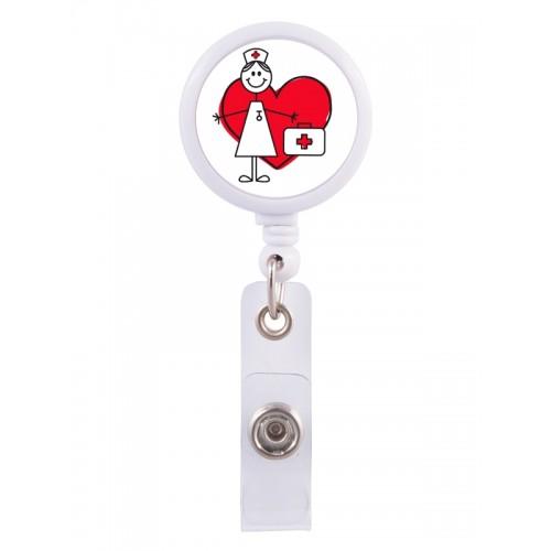 Badge / ID Jojo Stick Nurse
