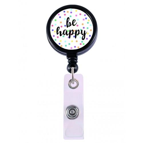 Badge / ID Jojo Be Happy