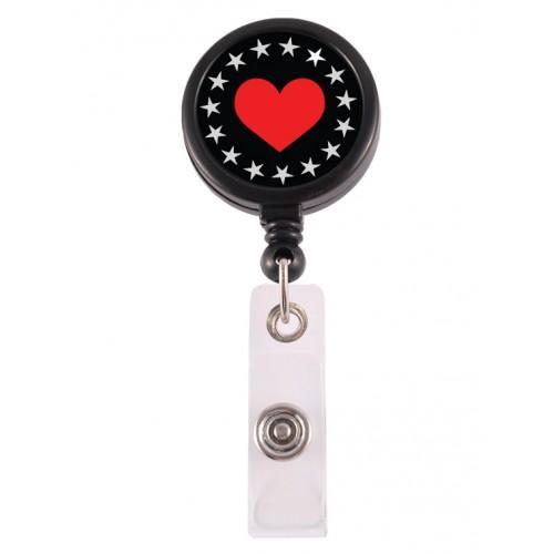 Badge / ID Jojo Heart Bling