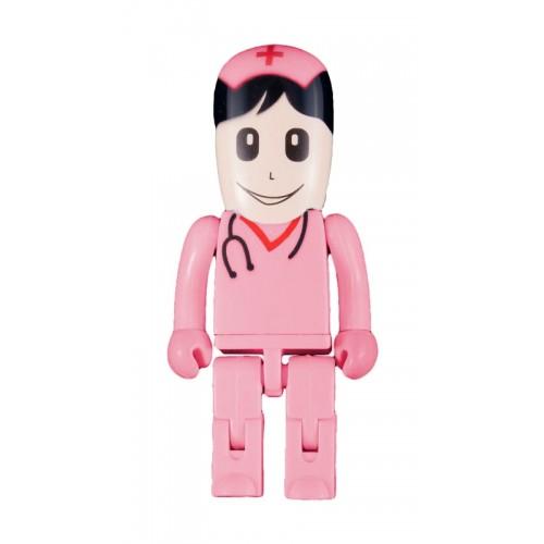 USB Stick Verpleegkundige Roze