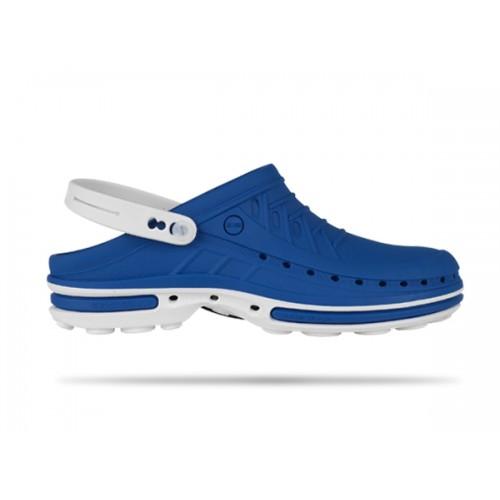 Wock Clog 07 Wit / Blauw